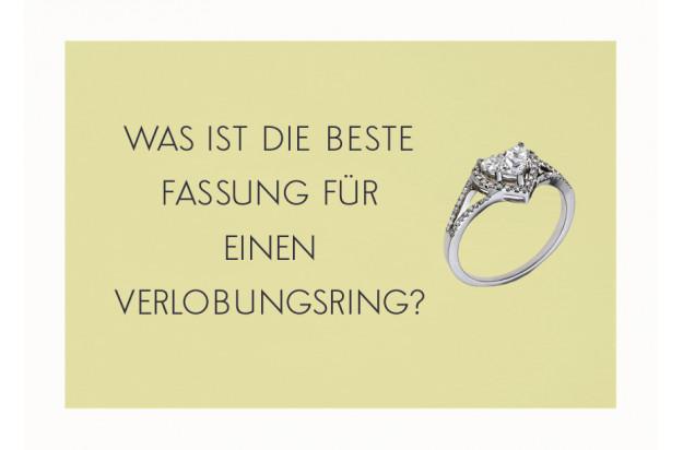Was ist die beste Fassung für einen Verlobungsring?