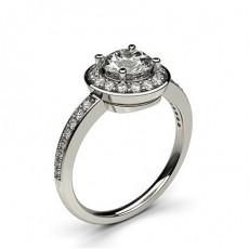 Multi Diamant Verlobungsring in einer Krappenfassung