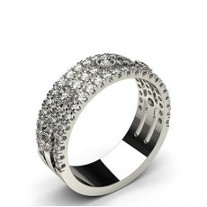 Runder Diamant Fashion Ring in einer Krappenfassung