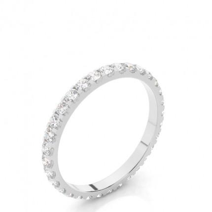 Diamant Memoirering in einer 4er-Krappenfassung