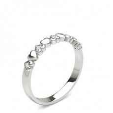 Runder Fashion Diamantring in einer Pavéfassung